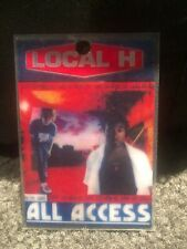 Local H 1998 Pack Up The Cats Tour Laminate
