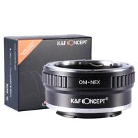 K&F Concept Adapter for Olympus OM Mount Lens to Sony E Mount NEX NEX-3 a5000