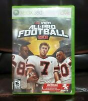 All-Pro Football 2K8 (Microsoft Xbox 360, 2007) Complete Game Disc Manual Case