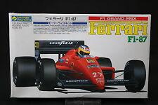 YV030 GUNZE SANGYO 1/24 maquette voiture G-472 600 F1 Ferrari F1-87 2 472 F1 87