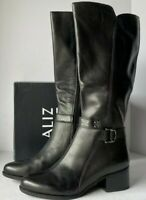 Naturalizer Women's Black Leather Koka Knee High Boots Size US 10 $199.99 New
