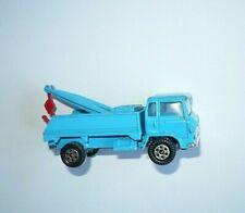 HINO Abschleppwagen Kranwagen altes Modellauto blau Yatming models Hongkong