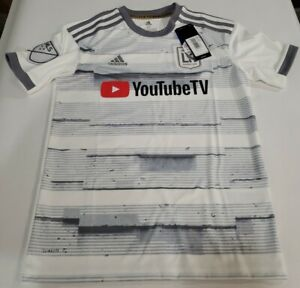 Adidas LAFC Los Angles FC MLS Climalite Soccer Jersey DP3978 Youtube YOUTH M