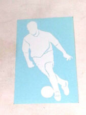 STICKY'S 5 YEAR VINYL DECALS - SOCCER PLAYER2 (23)