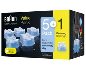 BNWB - BRAUN Clean & Renew Cartridge Refill 5  - FREE SHIPPING