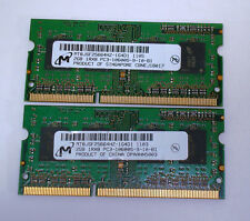 Micron 2 GB DIMM PC3-10600 DDR3 Memory - MT8JSF25664HZ1G4D1 (Lot of 2) - Tested