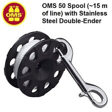 OMS 50 Spool (~15m of line) with Stainless Steel Double-Ender 24318001 Reels