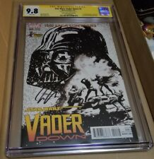 Star Wars: Vader Down #1 (ComicConBox Sketch Edition) CGC 9.8 Signature By Aaron