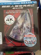 THE AMAZING SPIDER-MAN 2 STEELBOOK [NEW/OOP/3D+2D] Taiwan Import/Region Free