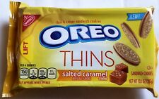 NEW Nabisco Oreo Thins Salted Caramel Creme Cookies FREE WORLDWIDE SHIPPING