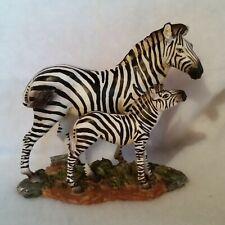 New listing Zebra w/Young Safari Collection - in Original Box Excellent Condition China