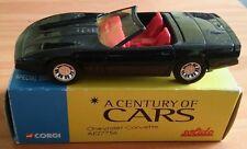 century of cars diecast chevrolet corvette boxed