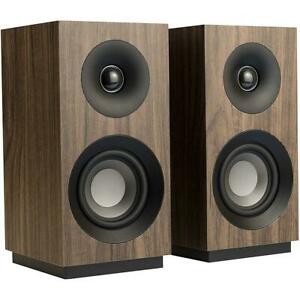 BRAND NEW Jamo S 801 Bookshelf Speakers, Walnut, Pair