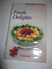 TUPPERWARE ~ FRESH DELIGHTS Fruits & Vegetables Recipe Book ~ NEW