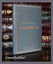 Leaves of Grass by Walt Whitman 150th Anniversary New Hardcover Deluxe Edition
