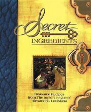 Secret Ingredients Junior League Of Alexandria Hardcover Used - Very Good