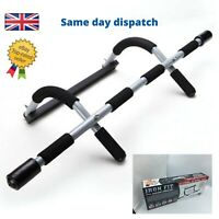 FITNESS PULL UP BAR - CHIN UP GYM STRENGTH SITUP DIPS EXERCISE WORKOUT DOOR BARS