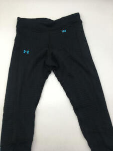 Under Armour - Womens Base 4.0 Layer Bottoms, Black, S