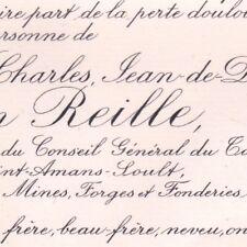 André Charles Reille-Soult-Dalmatie Tamaris Gard 1898 Député Saint-Amans-Soult