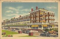 Atlantic City, NEW JERSEY - Brighton Hotel - LINEN - old cars