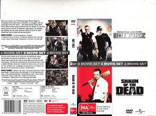 Hot Fuzz-2007/Shaun of The Dead-2004-Simon Pegg-2 Movie-2 Dvd