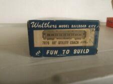 ATHEARN Wood Metal C&NW 60 Ft Utility Coach Kit    NR !!