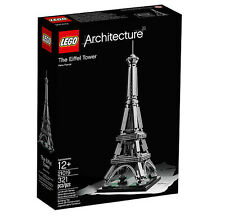 LEGO Architecture The Eiffel Tower 21019 - Brand New & Sealed (RETIRED)