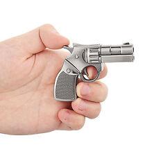 Silver Metal Gun Model 32GB USB 2.0 Flash Memory Stick Pen Flash Drive U Disk