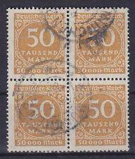 Dr im nº 275 a 4er bloque, comprobado, Dero. Vandersanden munich, párr dt. Reich 1923