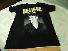 """JUSTIN BIEBER LIVE """"Believe"""" 2013 Tour [Concert T-Shirt] Size: Sm-Med._Cotton"""