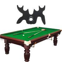1pc Moose Head Pool Billiard Snooker Cue Stick Rest Bridge 9 Slip-On Spider Bat