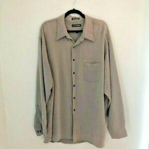 John Henry Men's Shirt Size 18 1/2  Long Sleeve 34/35 Button Down
