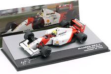 Ayrton Senna Mclaren MP4/7 #1 Allemagne Formule Gp 1 1992 1:43 Altaya