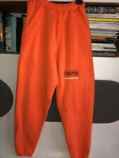 2017 Unisex Heron Preston Cotton French Terry Oversized jogger pants XS