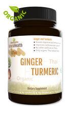 90 Turmeric & Ginger Capsules - Circulatory Antioxidant Cholesterol 500 mgs