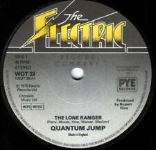 Quantum Jump~Original OZ 45 Lone ranger EX 1976 Rupert Hine Kenny Everett