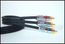 Revelation - Trinity II - 0.5 Meter/1.6 Feet Video Component Cable