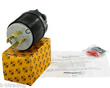 NEMA  L15-20 20A 250 Volt  3Ø 3P 4W Grounding Plug