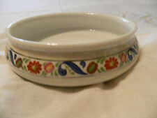 ROYAL- ROCHESTER  PEARL  LUSTER  WARE  BAKING  DISH   W /  FLOWERS