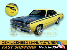 1971 Plymouth Duster 340 COMPLETE Decals & Stripes Kit