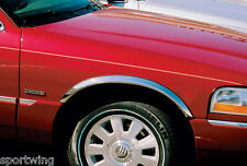 FENDER TRIM, Stainless Steel MC03VT For: MERCURY GRAND MARQUIS LS 1998-2002