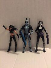 hasbro marvel legends lot x force deadpool x-23 domino