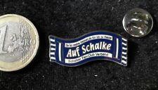 Schalke 04 S04 Fussball Pin Badge Schal Fanschal SFCV meine Heimat mein Zuhause
