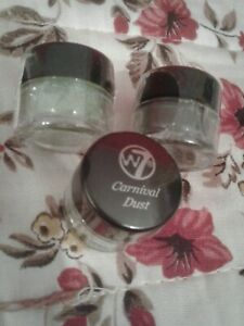 3 x  New carnival dust lime, moss green free uk postage sparkle eye pigment m
