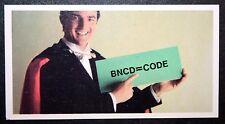 Magic Trick   Secret Code Trick     Vintage Card  VGC