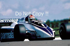 Nelson Piquet Brabham BT50 Swiss Grand Prix 1982 Photograph 1