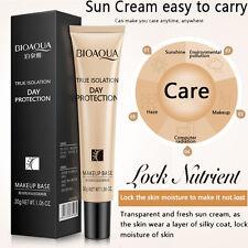 Face Primer Make-up Pores Invisible Brighten Whitening Cream Makeup Base Balm
