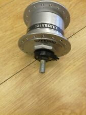 Shimano DH-2N35 Dynamo Front Hub - Silver - 36 Hole nutted axle