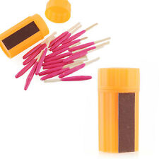 Survival Tool Wind Windproof Waterproof Portable Matches For Camping Gear