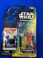 Star Wars 1997 Power of the Force POTF2 Freeze Frame Biggs Darklighter MOC